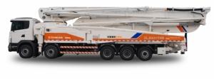 中联重科ZLJ5530THBK 60X-6RZ混凝土泵车