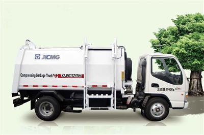 徐工XZJ5073ZYSH4(3T)压缩式垃圾车