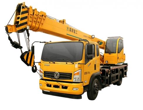 森源重工8噸汽車起重機