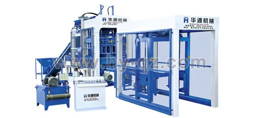 华源机械QT6-15全自动混凝土液压砌块成型机