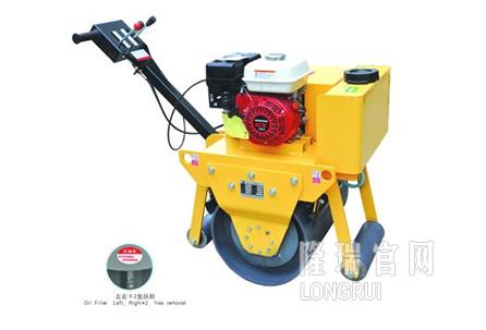 隆瑞机械LRY600C手扶单钢轮压路机