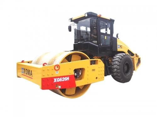 厦工XG626H全液压单钢轮压路机