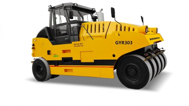 國機洛建GYR303輪胎壓路機