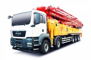 三一重工SY5541THB 630C-9混凝土泵车