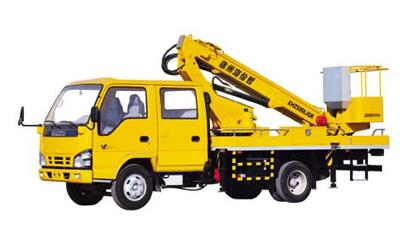 海伦哲XHZ5058JGK庆铃14米伸缩臂高空作业车