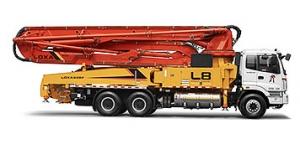 雷萨重机47米泵车
