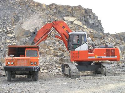 邦立CED650-6正铲电动液压挖掘机