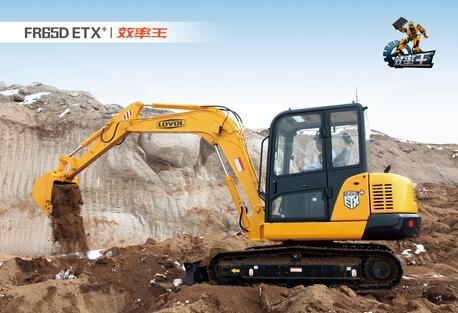 雷沃重工FR65D ETX+/效率王挖掘机