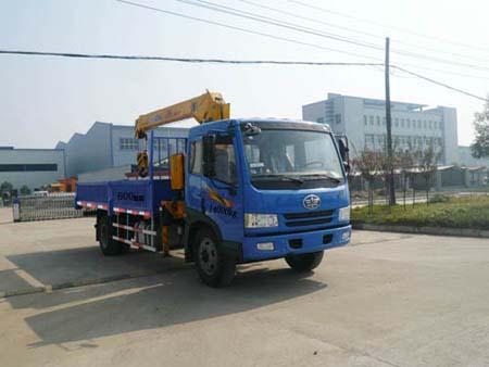 楚飞解放(6吨)-CLQ5140JSQT3CA随车起重运输车
