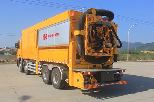 海山机械HSSE 41/10非破坏挖掘抽吸车
