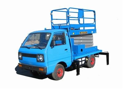 京城重工GTJD8W/10W电瓶车载剪叉式高空作业平台