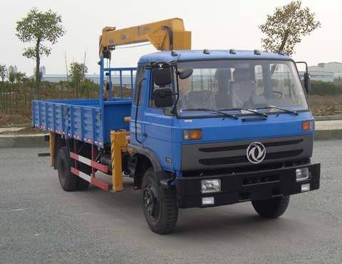 楚飞东风牌EQ5160JSQZZ4D型随车起重运输车
