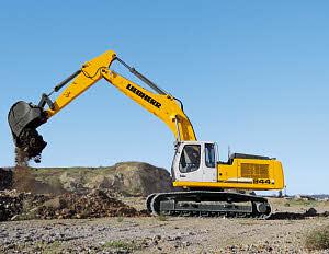 利勃海尔R944CLitronic履带式挖掘机