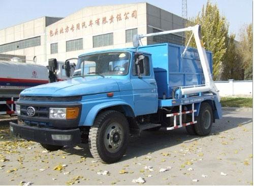 内蒙古北方重工BZ5090ZBB摆臂式自装卸垃圾车