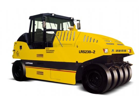 国机洛建LRS230-2/226-2光面轮胎压路机