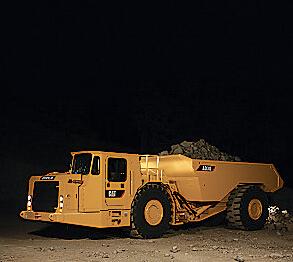 卡特彼勒AD30地下铰接式卡车