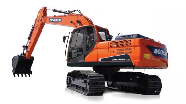 斗山DX225LC-9C挖掘机
