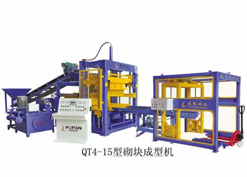 福帆机械QT4-15型砌块成型机砖机