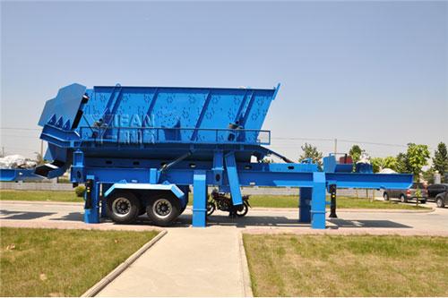 一帆机械PP系列移动筛分站
