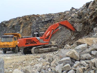 邦立CE400-7正铲液压挖掘机