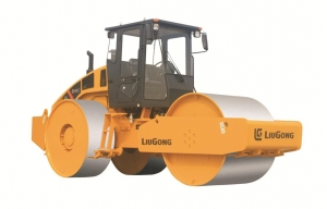柳工CLG6327静碾三钢轮压路机