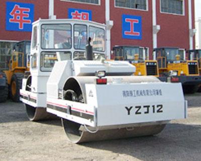 朝工YZJ12双钢轮压路机
