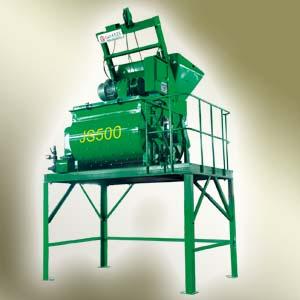 北山JS500双卧轴强制式混凝土搅拌机