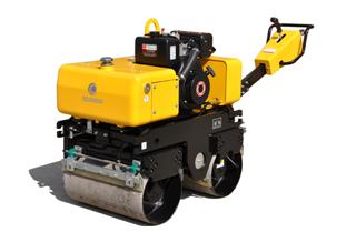 路得威RWYL34BC小型高配置手扶式双钢轮压路机