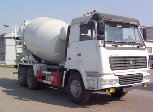 亚特重工TZ5256GJBZ8A斯太尔王10立方混凝土搅拌车