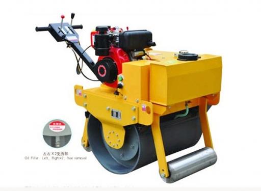 信德机械XD-600A手扶式单轮压路机