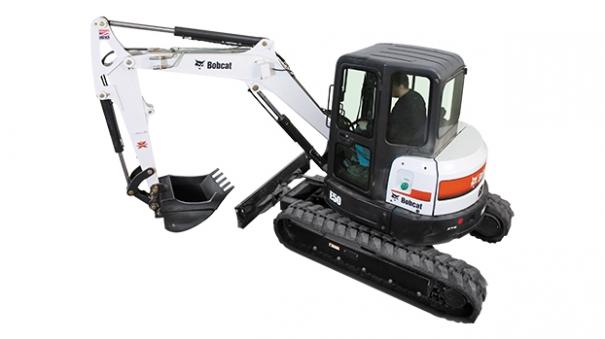 斗山E50小型挖掘機