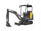 沃爾沃EC18D小型挖掘機