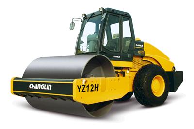 常林YZ12H液压单驱振动压路机