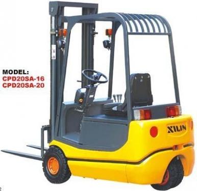 西林CPD10SA-10/CPD20SA-20三支点蓄电池平衡重式叉车