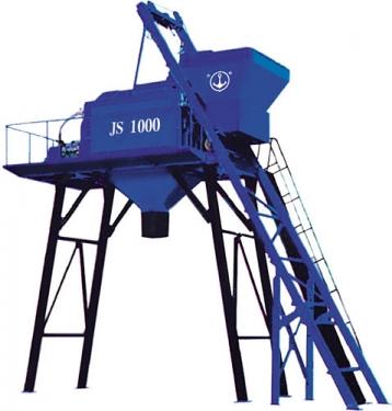银锚JS1000B混凝土搅拌机