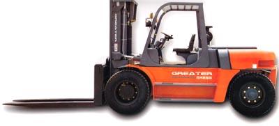 格瑞特CPCD80/CPCD100平衡重式内燃叉车