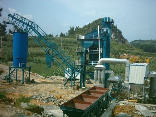 亚龙筑机LB1000沥青混合料搅拌设备