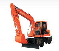 熔盛ZYL160轮式挖掘机