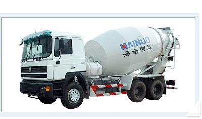 海诺HNJ5250GJBSA/HNJ5250GJBSB混凝土搅拌运输车