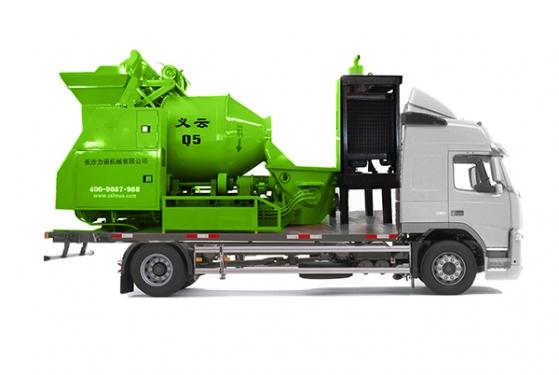 力诺义云系列Q7强制式搅拌车载泵