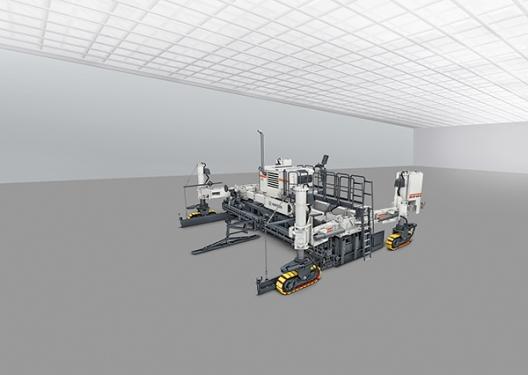 维特根SP 64 型滑模摊铺机