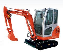 熔盛ZY16履带式挖掘机