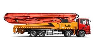 雷萨重机59米泵车