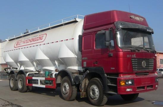 亚特重工TZ5315GFLS5N德龙散灰40立方粉粒物料运输车