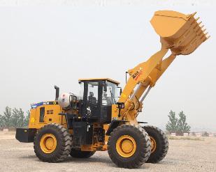 山工SEM650B LNG轮式装载机