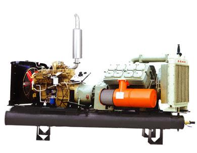 志高CVF12/7柴动固定筒式空压机