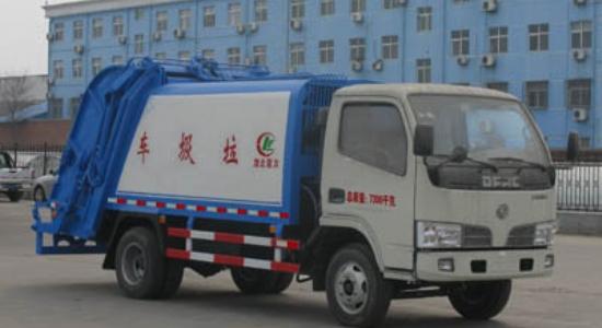 江特东风压缩垃圾车(国四环保)