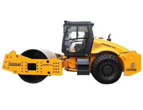 龙工LG526A6机械驱动单钢轮振动压路机