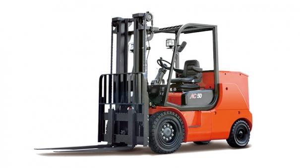 合力四支点 G系列4-5吨蓄电池平衡重式叉车