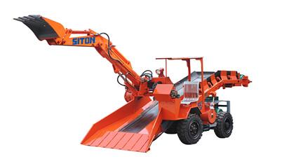 鑫通ZWY-80/18T窄机型轮胎式扒渣机